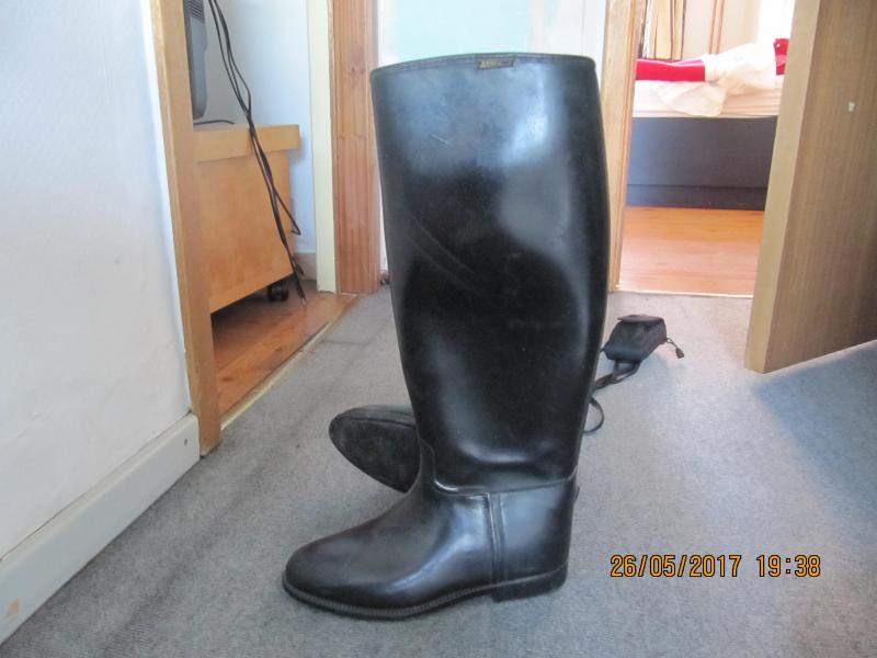 laarzen aigle zwart maat 41