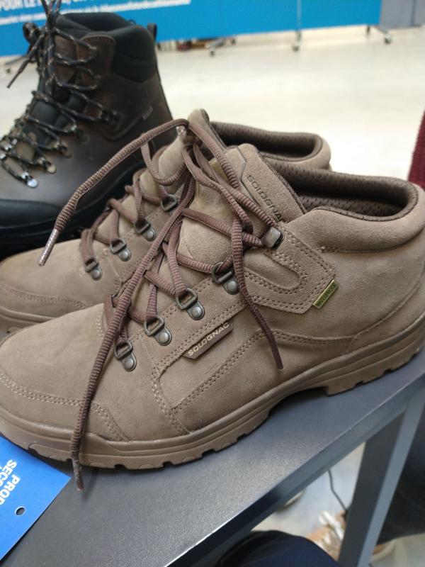 Chaussures chasse Imperméables Légères marron 500