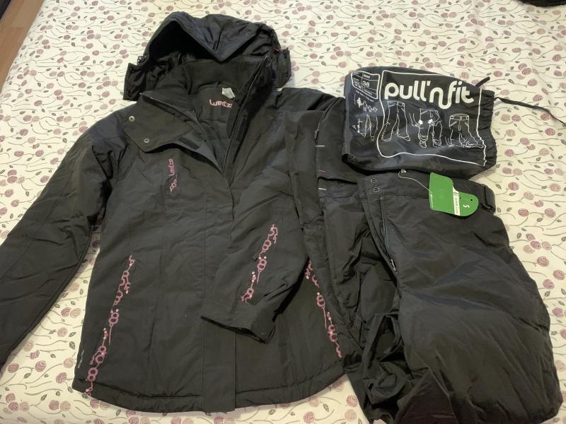 Padded jacket and padded pants