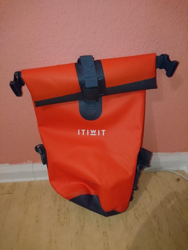 Wasserfeste Tasche, 10 L (orange)