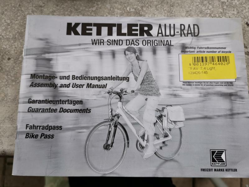 Kettler Alurad Traveler 7.4 Light