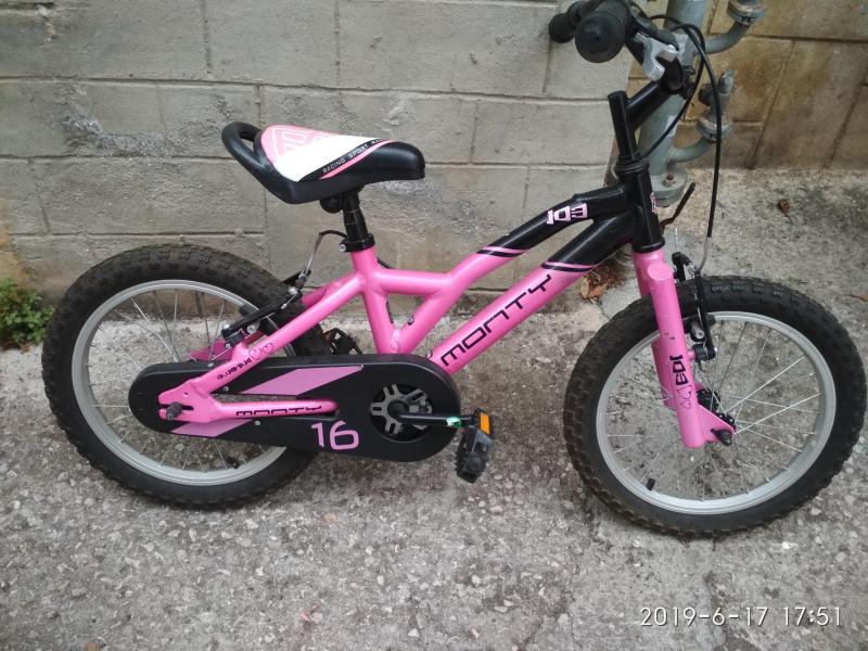 bicleta niña 16´´