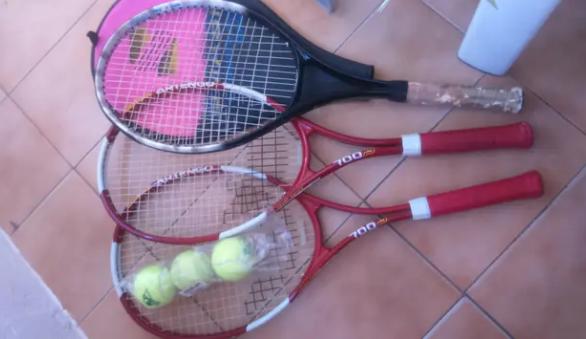 pack de raquetas