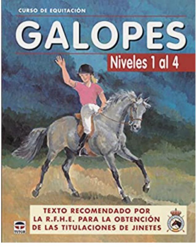 GALOPES NIVELES DEL 1 AL 4 (Curso de equitacion / Equitation course)