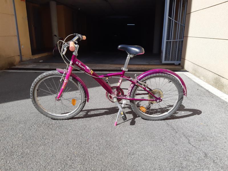 Bicicleta Blava