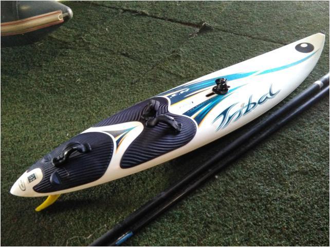 Tabla windsurf Bic 2,50 m largo, 85 litros