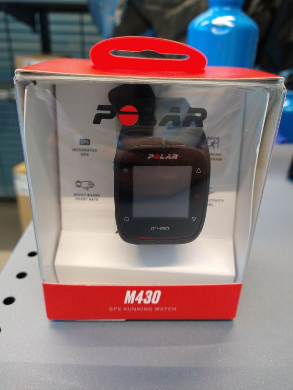 Polar M430 Reloj GPS Pulsómetro Muñeca Negro