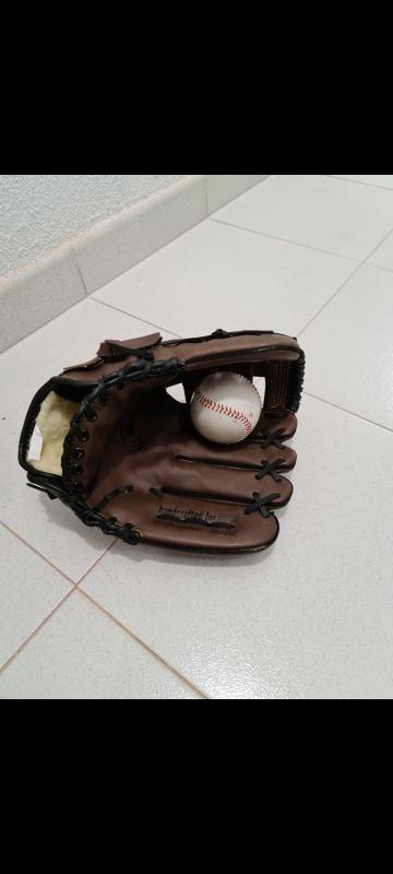 Guantes béisbol + 1 pelota