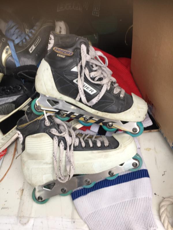 patins gardien glace