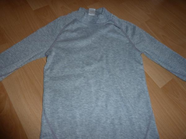 SOUS PULL GRIS