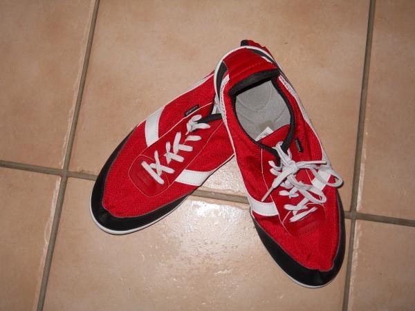 Baskets NEWFEEL rouge