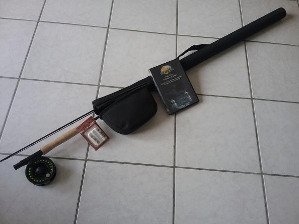 kit de pêche à la mouche