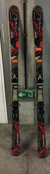 SKI FREERIDE HEAD MONSTER 78 2008