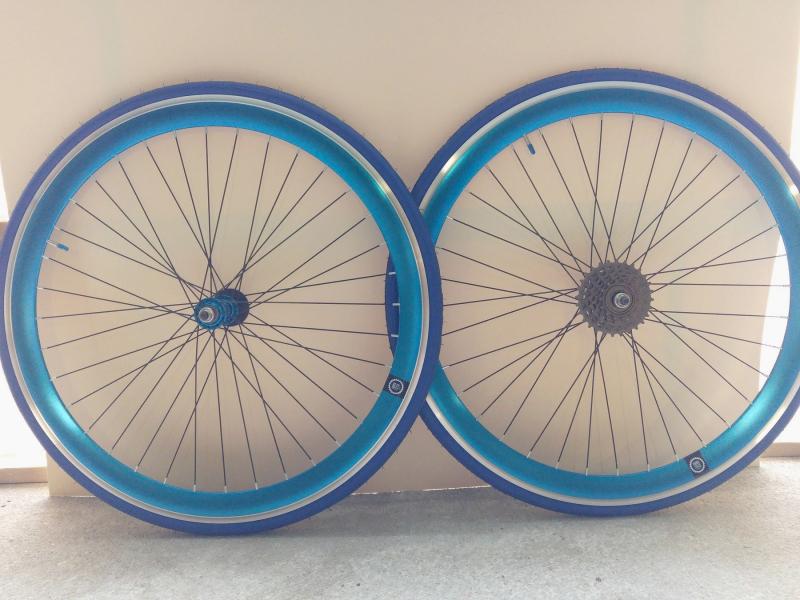 Paires de roues Fixies à vitesse pour cadre Vintage