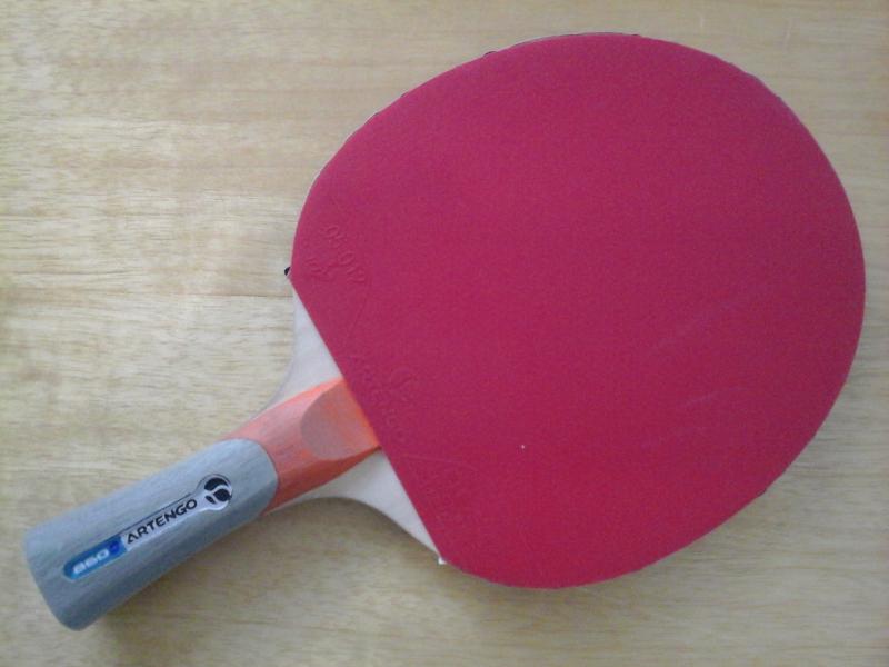 raquette de tennis de table artengo 860