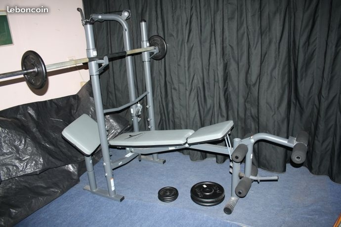 banc de musculation bm 450