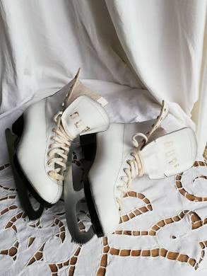 patins blancs
