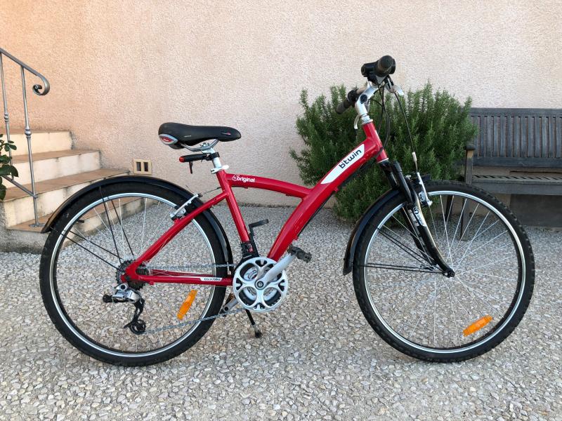 "Vélo Btwin 5 original rouge 26 """