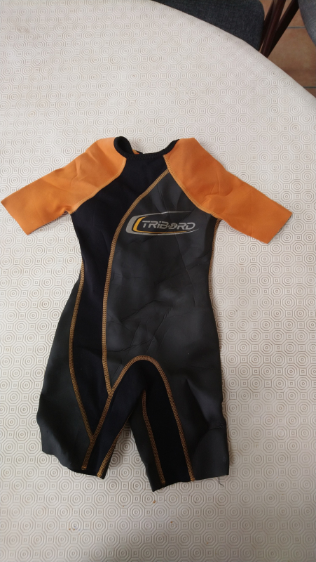 Shorty de snorkeling 1,5mm enfant taille 8 ans