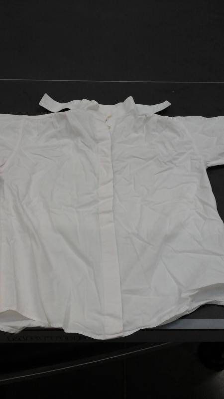 Chemise de concours t2 blanc equi theme