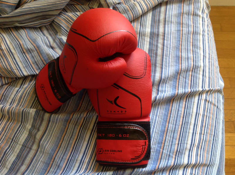 Guanti da boxe e fit boxing