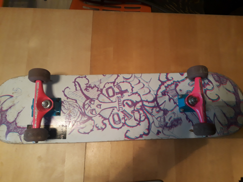 Skateboard ragazza