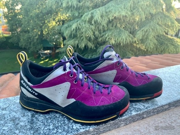 scarpe avvicinamento o ferrata Steinbock Low GTX Goretex Vibram