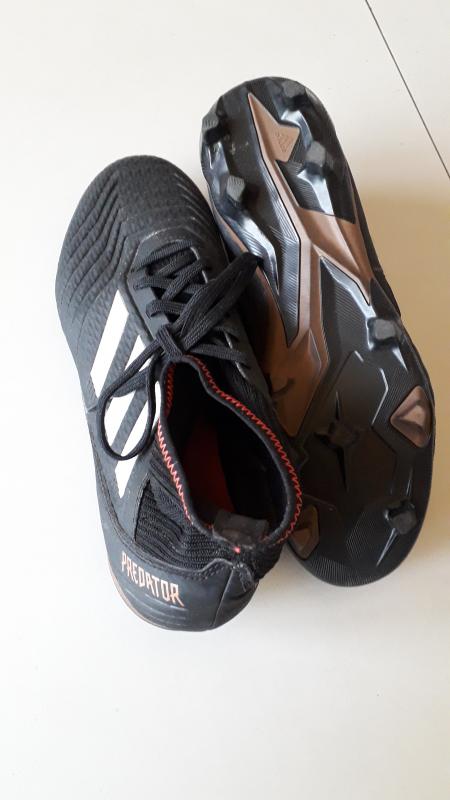 Scarpe calcio Adidas Predator usate 43 1/3