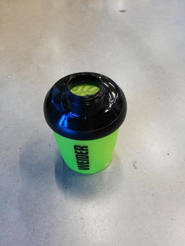 Shaker 400ml verde