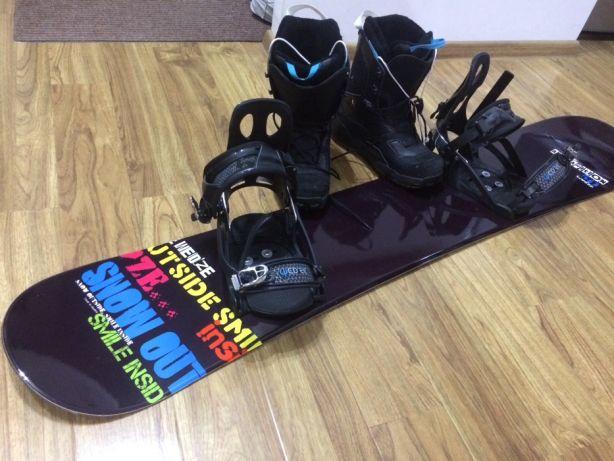 Placa snowboard + boots