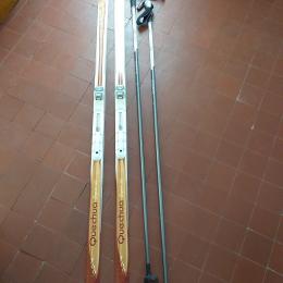 skis de fond capcir300 fixations Salomon flex95