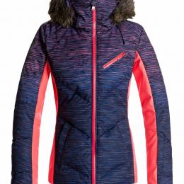 "Snowboardjacke ""Snowstorm Printed Jacket"" NEON GRAPEFRUIT"