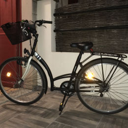 Bicicleta de ciudad BTWIN Elops 3