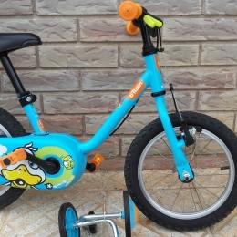 Bicicleta niño 3-5 años 14 pulgadas con ruedines