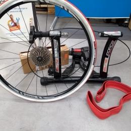 Rodillo force mag+rueda+pedales spd 520