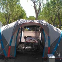 Tienda Campaña Quechua hinchable FAMILY 4.2 XL