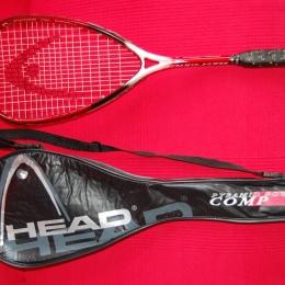 Raqueta de Squash marca HEAD+Funda