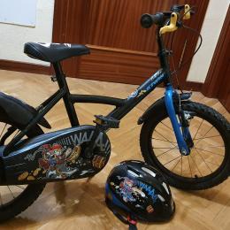 "Bicicleta 16"" Pirata (4-7 años)"