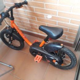 bicicleta niño robot 500 14 pulgadas