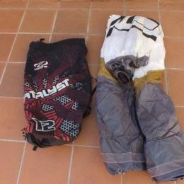Equipo completo de kitesurf