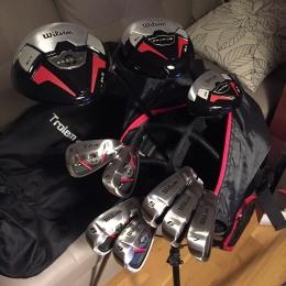 Golf Série compl. WILSON PROFILES XLS HOM avec sac
