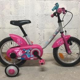 "Vélo enfant Btwin 14"" rose"