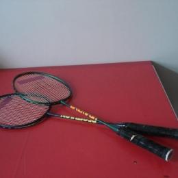 Deux raquettes de badminton (le lot ou à l'unité)