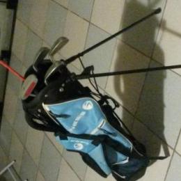 Clubs de golf inesis junior + sac inesis + balles inesis