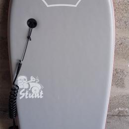 Ensemble bodyboard planche + leash + housse transport