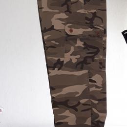 Pantalon camouflage kaki/noir/beige