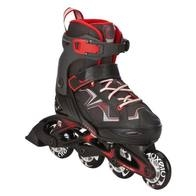 ROLLER FIT3 JUNIOR BOY 35-38 rouge noir