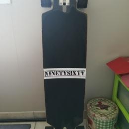 "NINETYSIXTY BOOBAM 39.4"" (100CM) LONGBOARD-COMPLÈTE 2015"