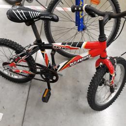 Bici Klass 16 pollici rossa