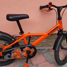 Bicicleta 16'' 500 Robot 4-6ani
